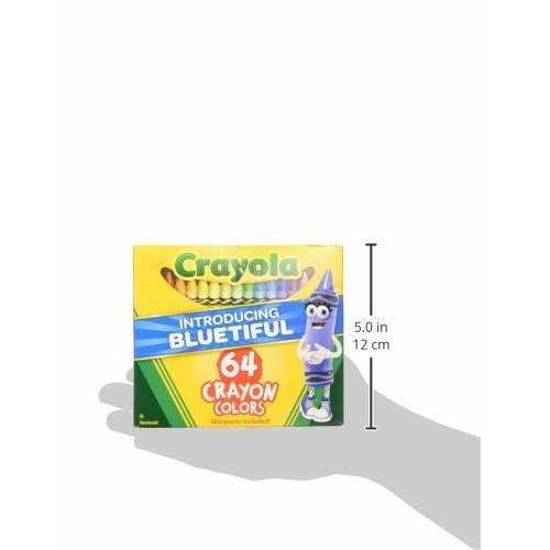 Crayola 64 Crayon Colors [Including Bluetiful]