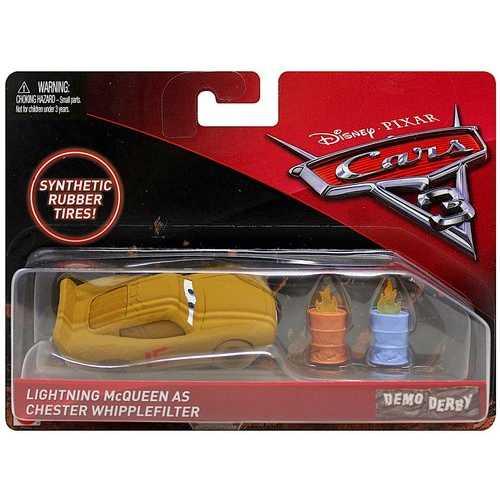 Cars Demo Derby Die-Cast - Lightning McQueen as Chester Whipplefilter