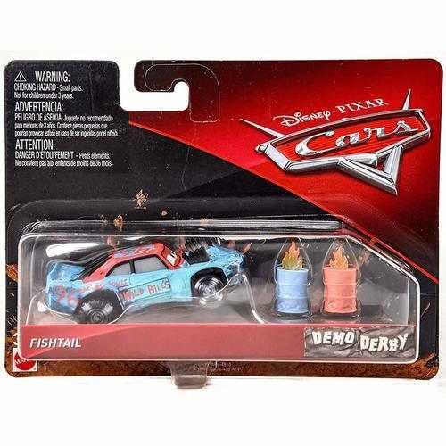 Cars Demo Derby Die-Cast - Fishtail