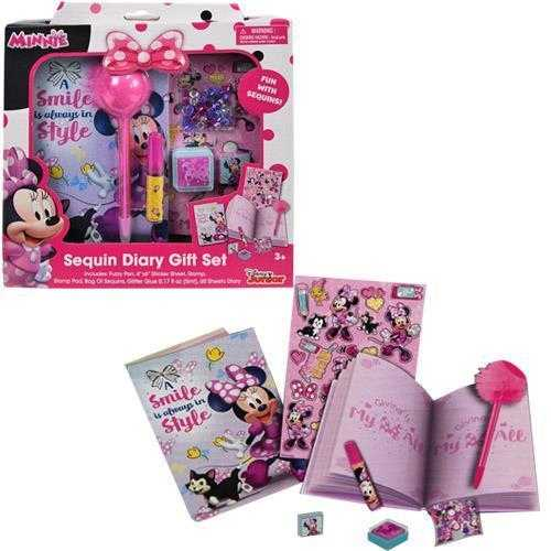 Minnie Mouse Diary Set in Box