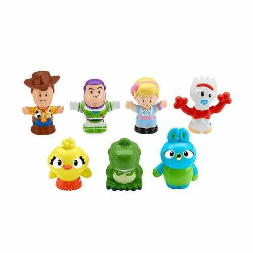 Little People Fisher Price Disney Toy Story 4 Movie 7-Friends Pack