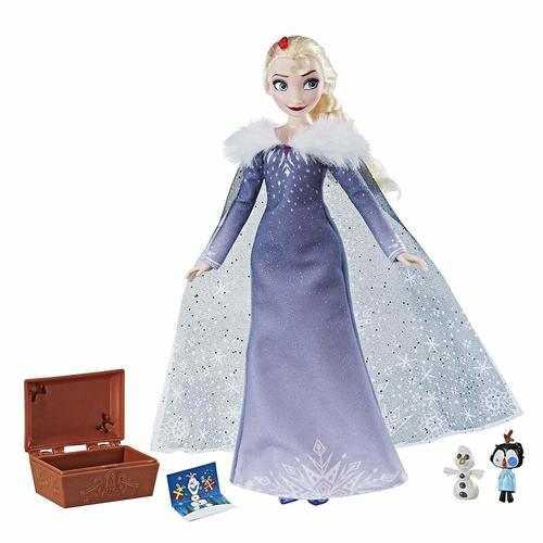 Disney Olaf's Frozen Adventure - Elsa's Treasured Traditions Doll