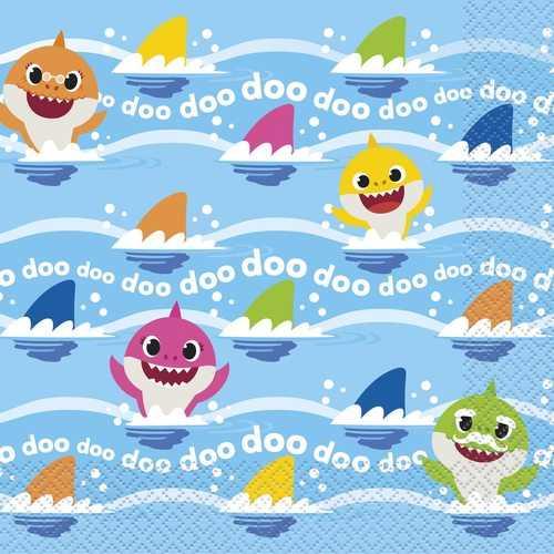 Baby Shark Luncheon Napkins [16 per Pack]