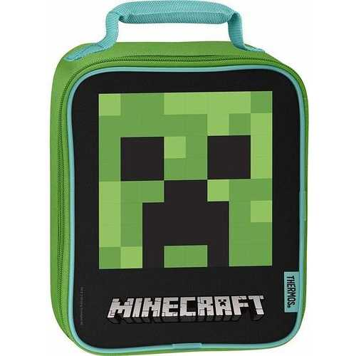 Thermos Soft Lunch Kit Minecraft - Upright
