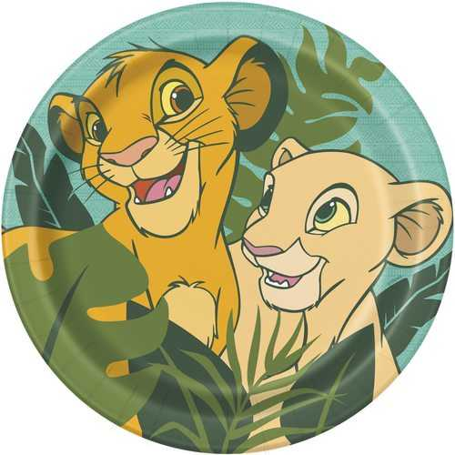 The Lion King Paper Dinner Plates - 9 Inches [8 Per Package]