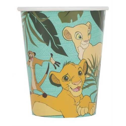 The Lion King 9 oz Paper Cups [8 Per Package]