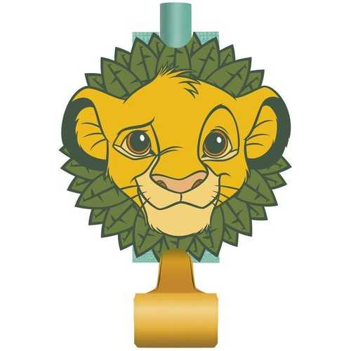 The Lion King Birthday Party Blowouts [8 Per Package]