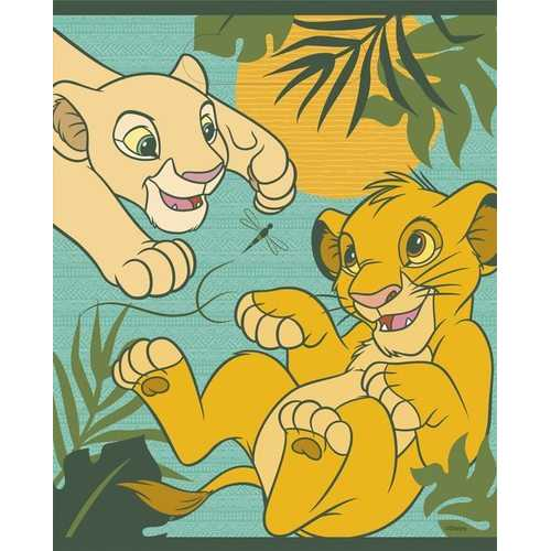 The Lion King Birthday Party Plastic Loot Bags [8 Per Package]
