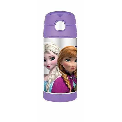 Disney Frozen Thermos Funtainer 12 Ounce Bottle - Purple