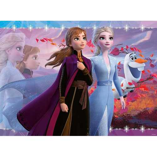 Ravensburger Disney Frozen II - Strong Sisters - 100 Piece Jigsaw Puzzle