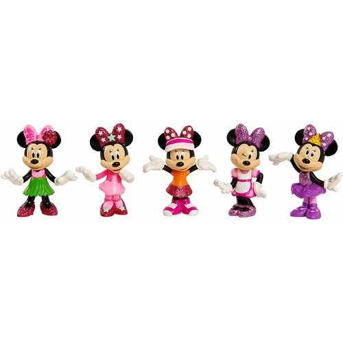 Disney Minnie Mouse Collectible Figure Pack Set