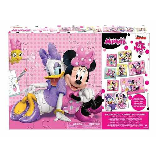 Disney Minnie Mouse GIANT 8 Puzzle Pack