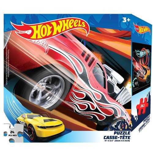 Hot Wheels 24 Piece Puzzle