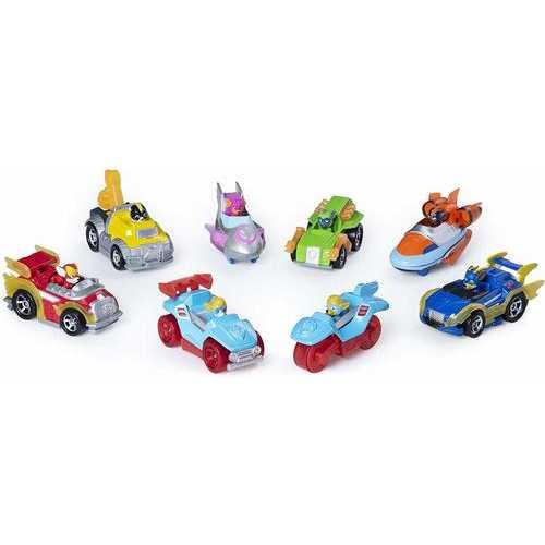 Paw Patrol - True Metal Mighty Gift Pack - Set of 8 Die-Cast Cars