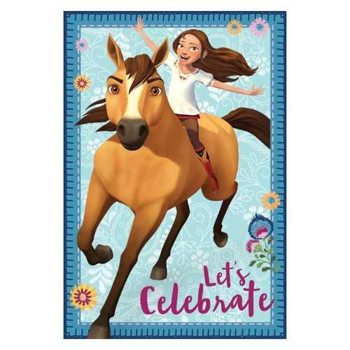 Spirit Riding Free Postcard Invitations
