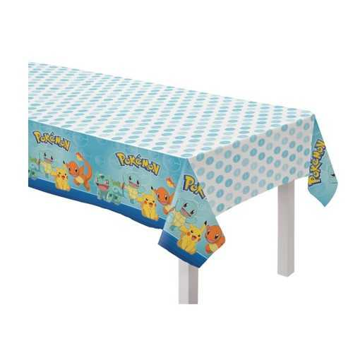 Pokemon Party Plastic Table Cover