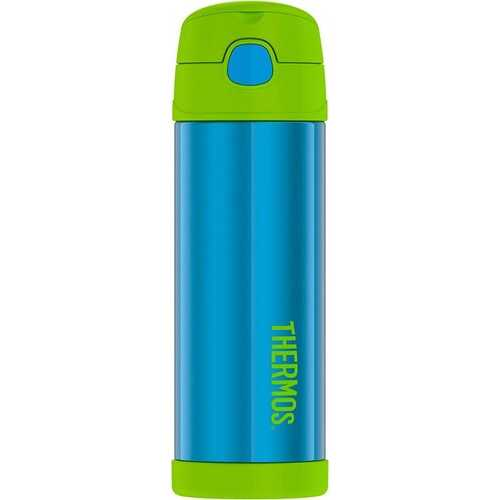 Thermos Funtainer Stainless Water Bottle 16 Ounces Teal