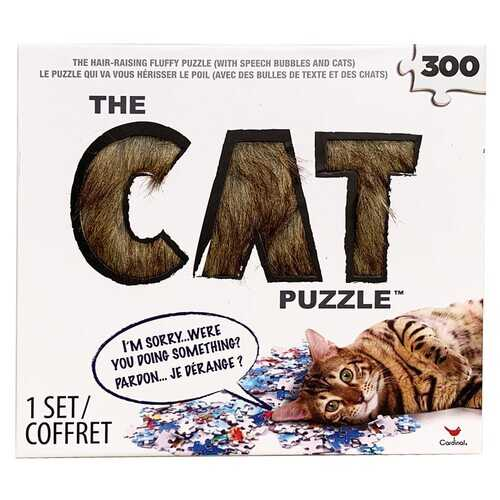 The CAT 300 Piece Puzzle - The Hair-Raising Fluffy Puzzle
