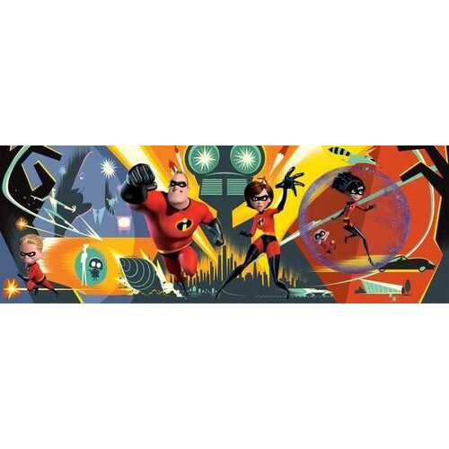 Disney Panoramic The Incredibles 700-Piece Puzzle