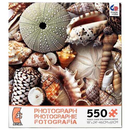 Ceaco Photography - Sea Shells - 550 Pieces