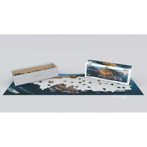 Eurographics Porto Venere Italy 1000 Piece Panoramic Jigsaw Puzzle