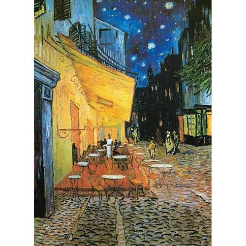 Eurographics Van Gogh Cafe at Night 1000 Piece Jigsaw Puzzle