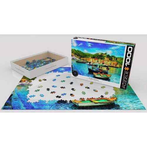 Eurographics Portofino Italy 1000 Piece Jigsaw Puzzle