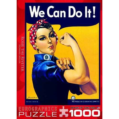 Eurographics Rosie the Riveter by Howard Miller 1000 Piece Jigsaw Puzzle