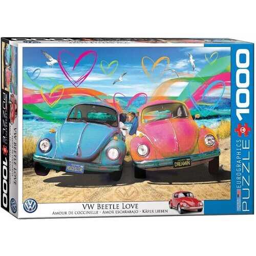 Eurographics VW Beetle Love - 1000 Piece Jigsaw Puzzle