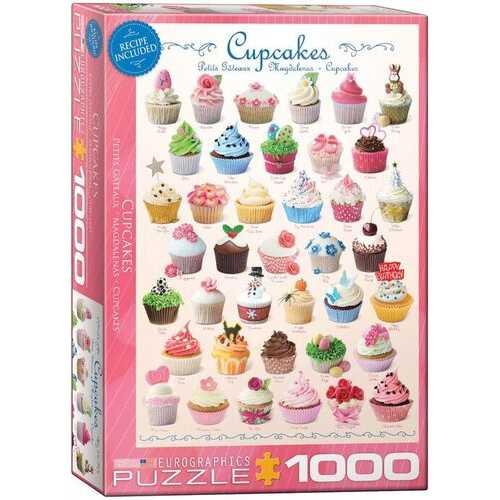 Eurographics Cupcakes - 1000 Piece Puzzle