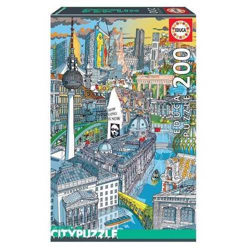 EDUCA Berlin Puzzle - 200 Pieces