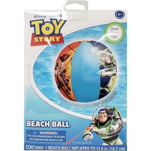 Disney Toy Story 4 Inflatable Beach Ball Includes Repair Kit