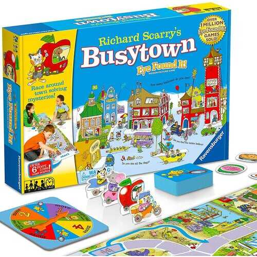 Wonder Forge Richard Scarry's Busytown Game