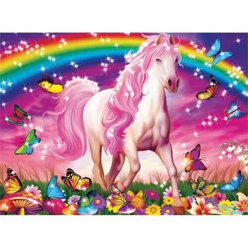 Ravensburger Glitter Dream Horse - 100 Piece Puzzle