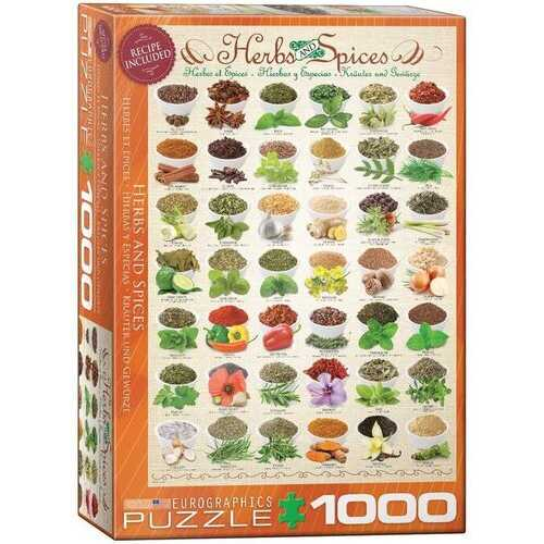 Eurographics Herbs and Spices Jigsaw Puzzle (1000-Piece)
