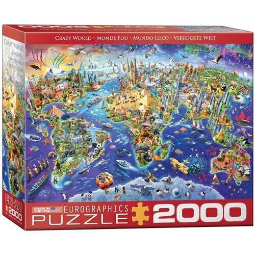 Eurographics Crazy World 2000-Piece Puzzle