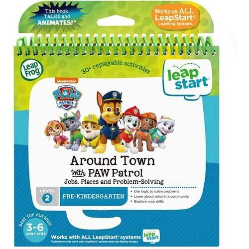 Leapfrog Leapstart 3D Activity Book Around Town with Paw Patrol