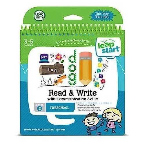 LeapFrog LeapStart Pre-Kindergarten Activity Book: Read & Write Communication Skills (English Version)