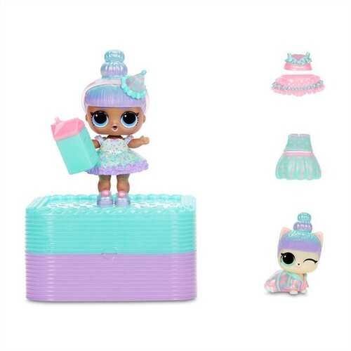 LOL Surprise Deluxe Present Surprise With Limited Edition Sprinkle Dolls