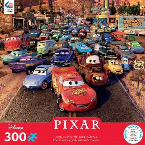 Ceaco Disney Pixar Cars - 300 Piece Puzzle - Over-sized Pieces