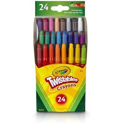 Crayola 24 Count Mini Twistables Crayons