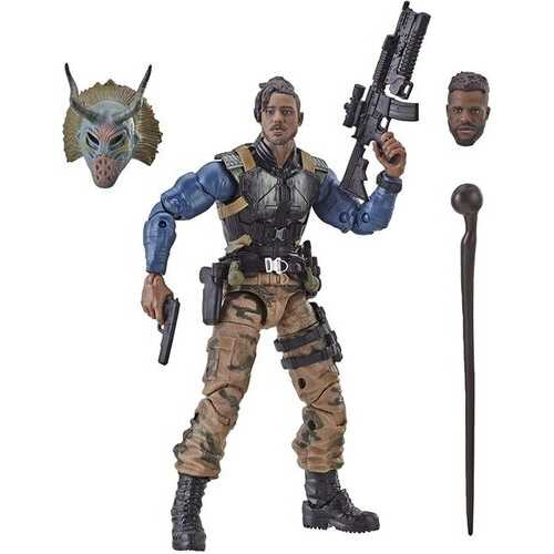 Marvel Legends Series Black Panther 6-inch Erik Killmonger Figure