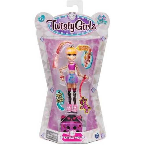 Twisty Petz and Twisty Girlz - Krystal Kool with Secret Pet