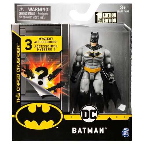 Batman 4 Inch BATMAN ACTION FIGURE w/Accessories