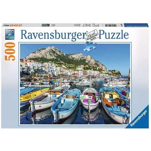 Ravensburger Colorful Marina-Puzzle 500-Pieces