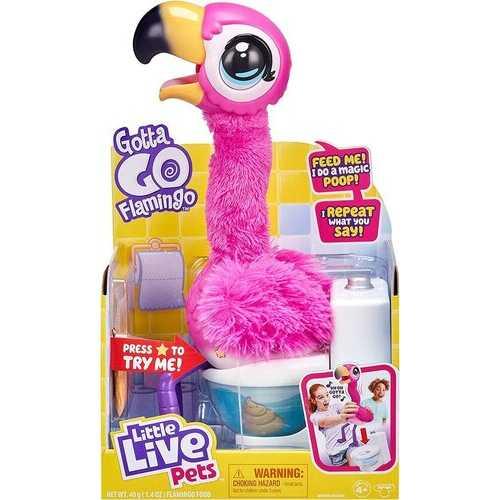 Little Live Pets - Gotta Go Flamingo - Series 1