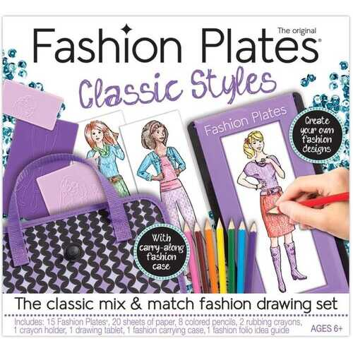 Kahootz Fashion Plates Deluxe Kit (Green Version)