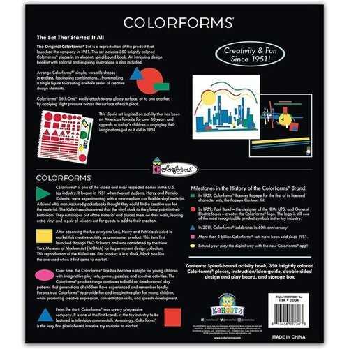Kahootz Retro The Original Colorforms Set