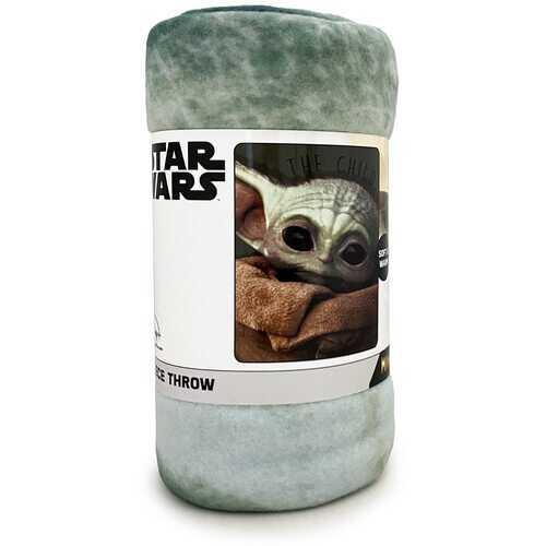 Star Wars The Mandalorian Soft & Warm Fleece Throw - 46in x 60in