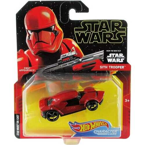Hot Wheels Character Cars - Sith Trooper - Die-Cast